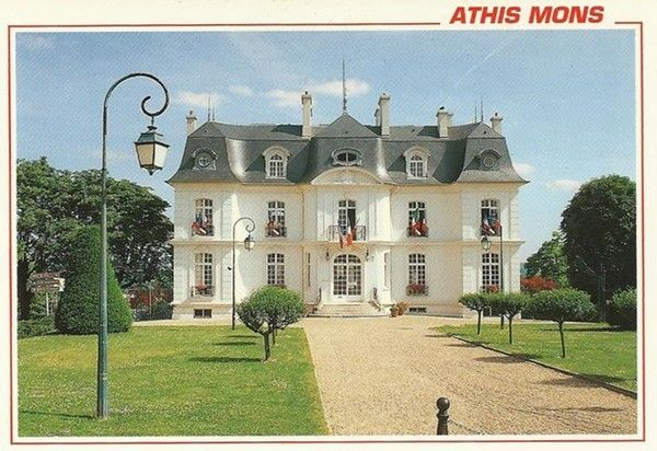 Athis mons hotel de ville for Athis mons piscine