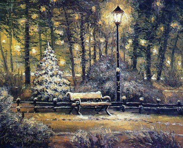 Les images de Noël (Paysages et illustrations féeriques) 63ecb90a